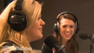 Kelly Clarkson plays the Heartbeat Song Game | KISS FM (UK)