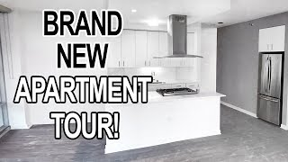 MY NEW CITY APARTMENT! BRAND NEW EMPTY HOME TOUR