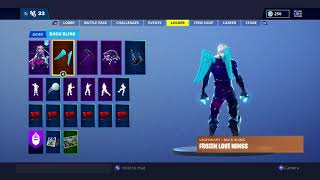 New insane Fortnite Galaxy skin combo (Ice Wings)