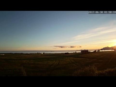 Midnight sun Live from Austvågøya by Hill Valley Laboratories