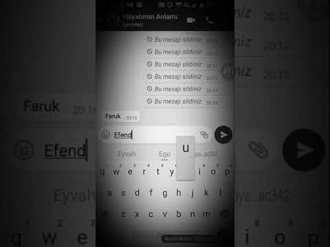 Watsapp üzücü ayrılık mesajları (KIZ KAPAK OLDU)