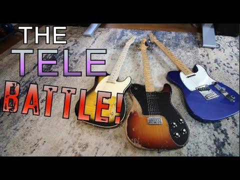 Tele vs Tele vs Tele!!! THE TELE BATTLE! ( What's your favorite?)