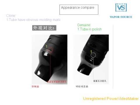 titan 1 vaporizer differences between authentic and fake ones