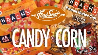 Brach's Candy Corn Review, Apple Mix, Caramel, Peanut Butter Cup, Classic And Mellowcreme Pumpkins