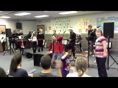 "Sandy School of Rock's Showband-""Rock Lobster"" @ Jordan Valley School"