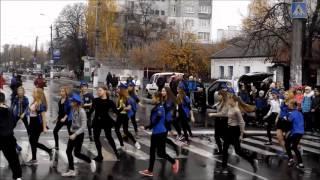 Флешмоб Бородянка(12 листопада 2015, в Бородянці, Київська область, пройшов флешмоб з безпеки дорожнього руху. Своїм запальним..., 2015-11-17T10:11:34.000Z)