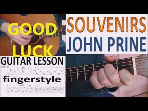 SOUVENIRS - JOHN PRINE fingerstyle GUITAR...