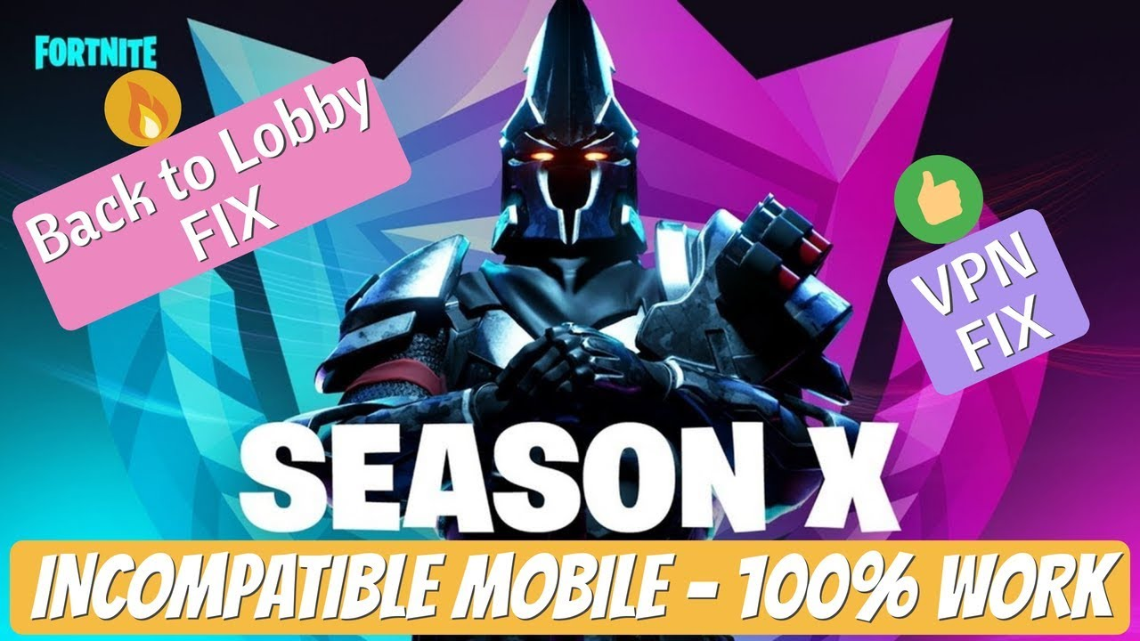 How to Play FORTNITE on Incompatible Android Device (it worked) - Fortnite  Season 10