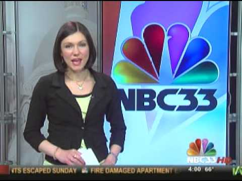 WISE-TV NBC 33 News Opening 04/08/13 4pm