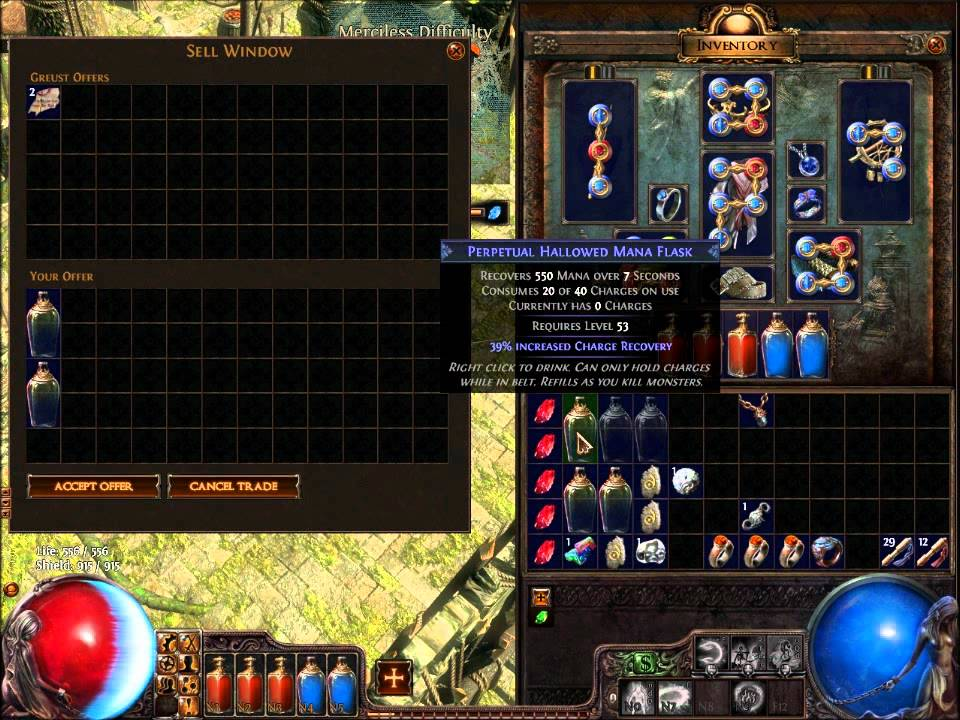 Map Vendor Recipe Poe