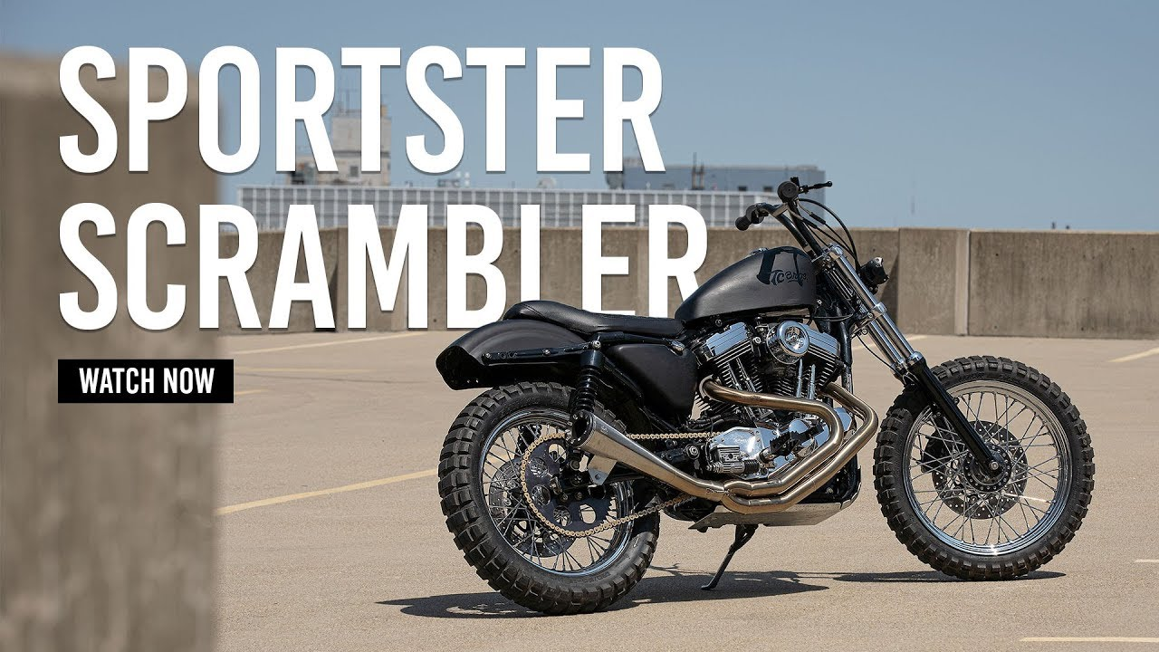 Sportster Scrambler - TC Bros  Builds - TC Bros  Products