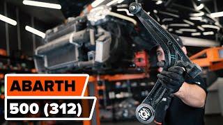 Wie ABARTH 500 / 595 (312_) Bremssattel Reparatursatz auswechseln - Tutorial