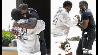 Diddy Forgives Loon For Getting Locked Up First Time Seeing Each Other Since 2013