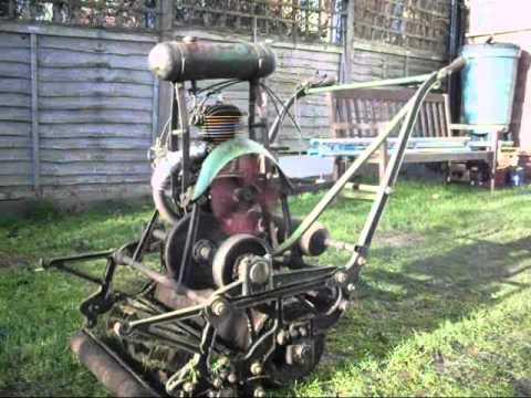 "1922 ATCO Standard 22"" Motor Mower - Running & Driving -"