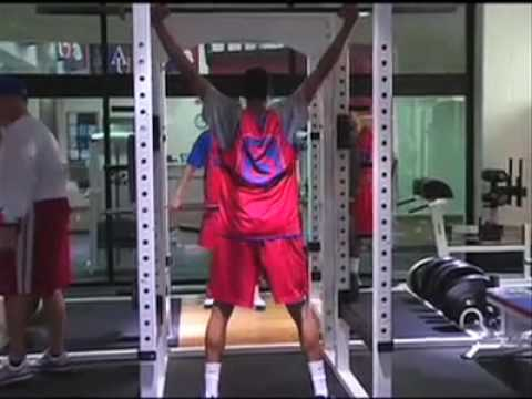 Men's Basketball In Strength And Conditioning Sessions - American University Eagles