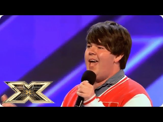 MY MUM AND DAD DONT KNOW IM HERE |  The X Factor UK Unforgettable Audition