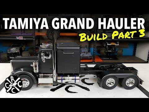 Tamiya Grand Hauler Matte Black Edition Build Part 3: MCU & Driver Install