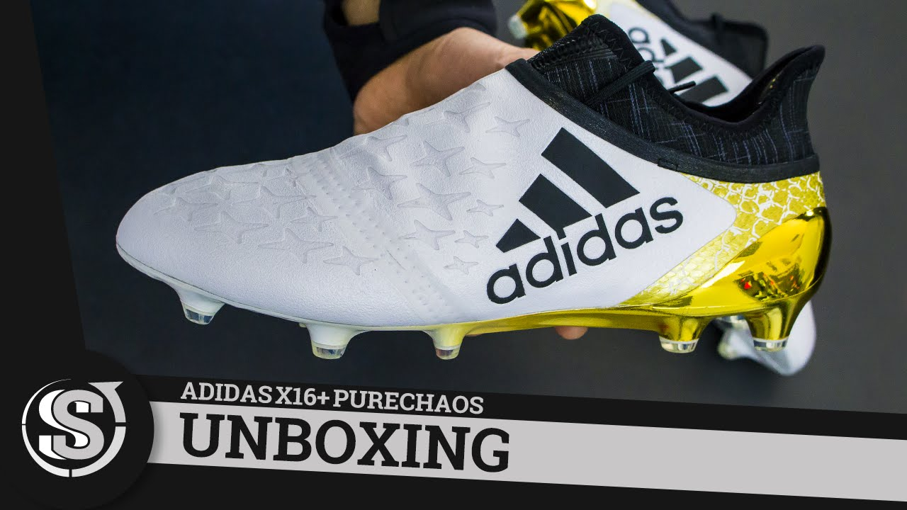 big sale new images of exclusive range adidas X16+ PureChaos Stellar Pack - Unboxing - YouTube