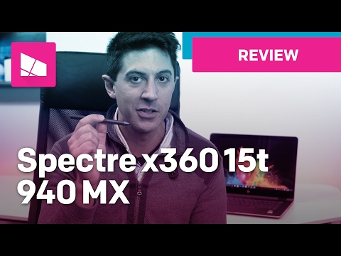 HP Spectre x360 15 Review (2017) - A 4K convertible!