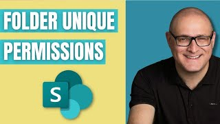 How to create unique permissions for a folder in SharePoint