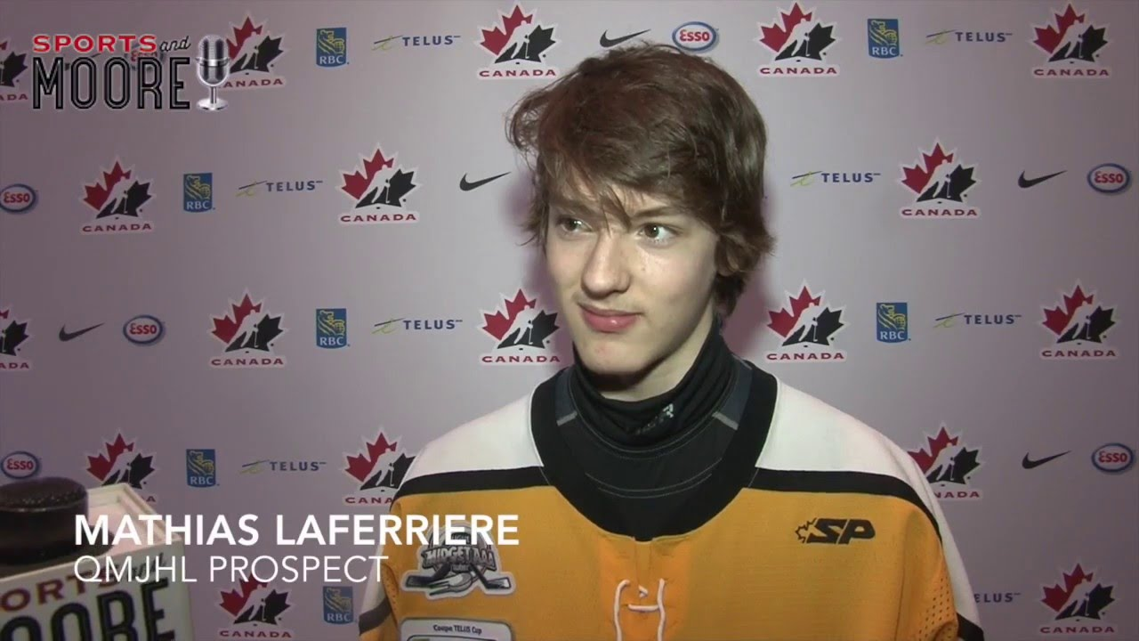 Blainville-Boisbriand Armada 7th overall pick Mathias Laferriere ...