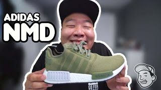 VLOG 02: UNBOXING OLIVE NMD'S!