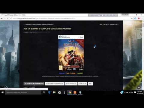 How To Download Age of empire 3 Full version [in Torrent]