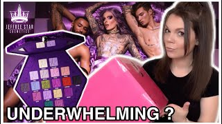 UNBOXING jeffree star BLOOD LUST 💜COLLECTION PR