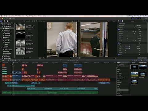 A COMPLETE END TO END WORKFLOW IN FINAL CUT PRO X