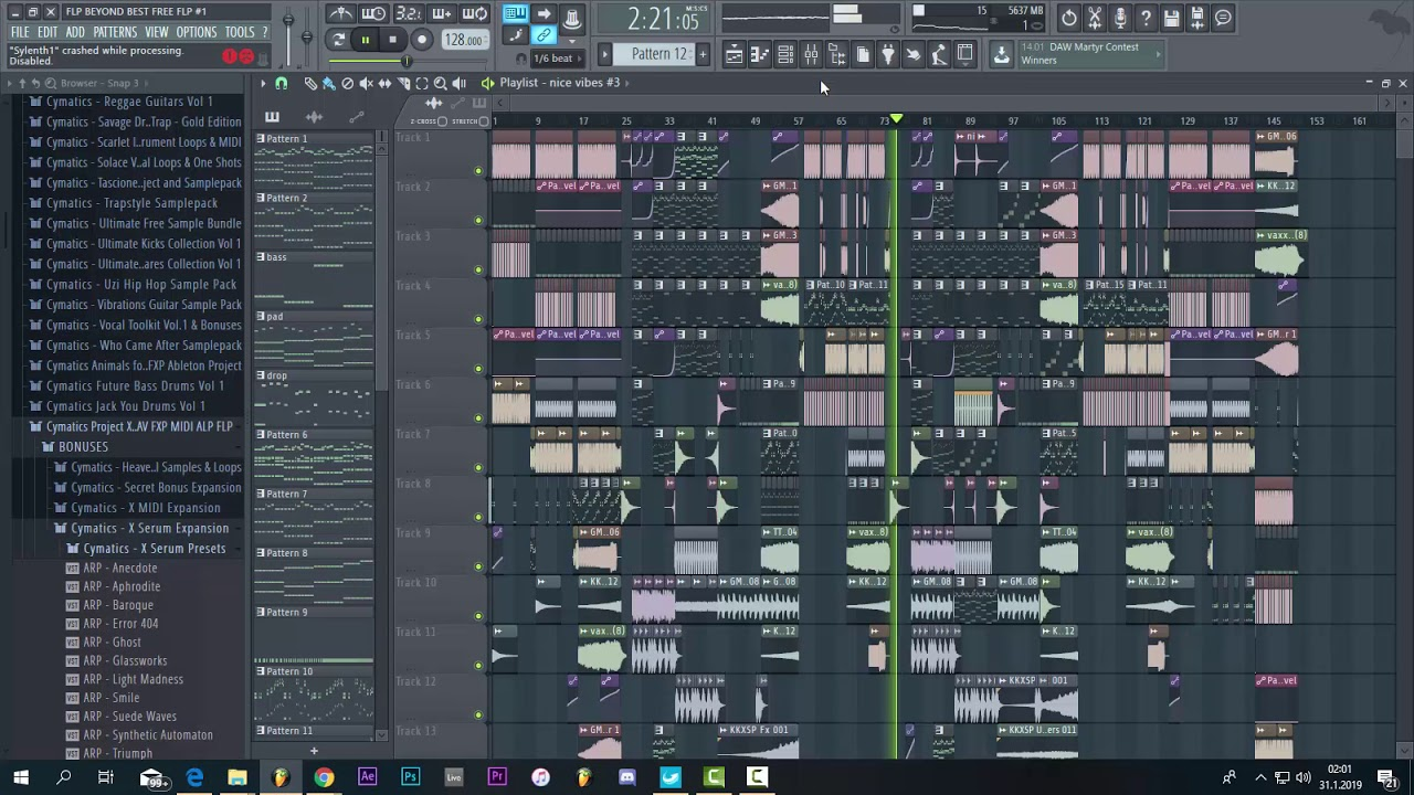 (FREE FLP)2019 Best free Hard Trap Flp Lit Lords Saymyname Style (Full  Mixing and Mastering)