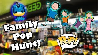 Family Funko Pop Hunting 🤪 , New Exclusives Found! | Dr. Applesauce