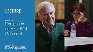 Lecture de l'Argentina, Marc Bélit