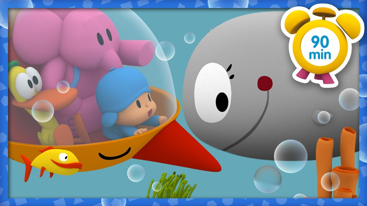 🌊 POCOYO in ENGLISH - Ocean Adventure [ 90 minutes ] | Full Episodes | VIDEOS and CARTOONS for KIDS