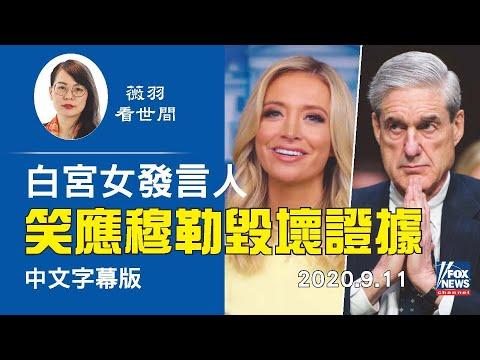 薇羽看世间:【中文字幕】绝对好脾气,应该拿高薪。白宫女发言人微笑回应穆勒在调查中销毁了重要证据。