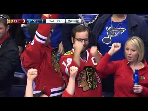 St. Louis Blues vs Chicago Blackhawks. Conference Quarterfinals Playoffs NHL 2016