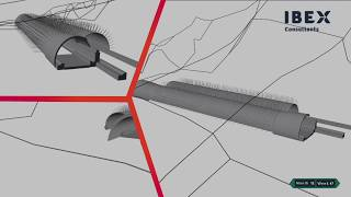 4D BIM Construction Sequence - Infrastructure (Tunnel)