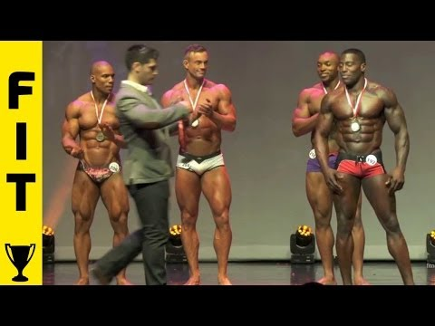 WBFF LONDON - TOP THREE MALE FITNESS AND MUSCLE MODELS