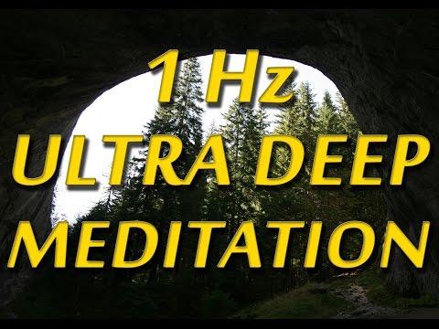 8 Hours Ultra Deep Meditation: 1Hz Delta Binaural Beats