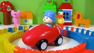 Pocoyo Race Track Bandai - Juguetes de Pocoyo