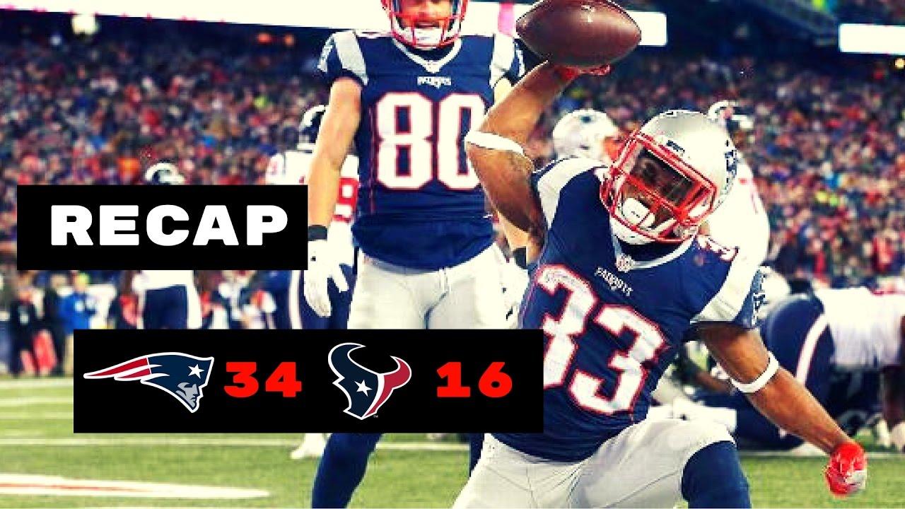 f8d607459cd New England Patriots vs Houston Texans Recap   NFL Divisional Round ...