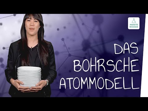 Atommodell Nach Niels Bohr I Musstewissen Chemie
