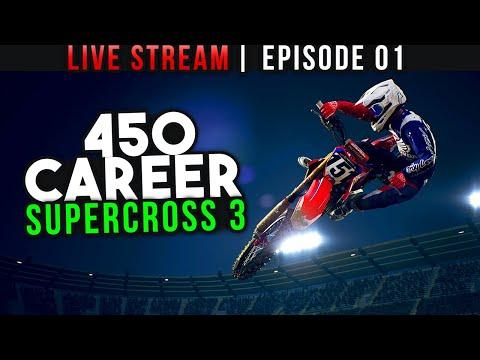 Monster Energy Supercross 3 - 450 Career Episode 1 - The Start