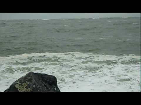 Winter storm waves at Ocean Shores, WA