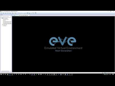 Eve-ng set up tutorial