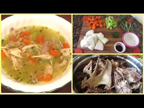 Leftover Thanksgiving Turkey Soup