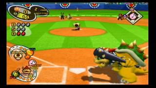 Mario Superstar Baseball Exhibition Game 8 - Jr. Bombers VS Peach Monarchs