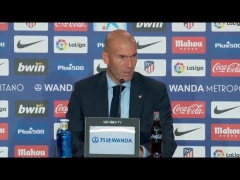 REAL/ATH - Zinédine Zidane «Dans le football, tout peut arriver»