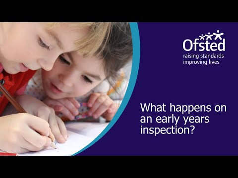 What Happens On An Early Years Inspection?
