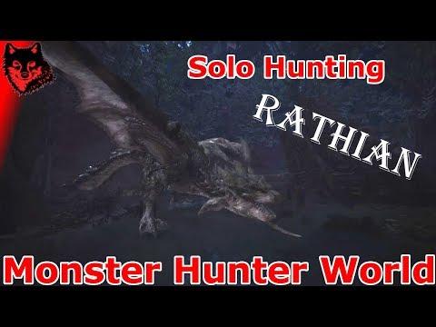 Rathian Hunt Solo | Monster Hunter World