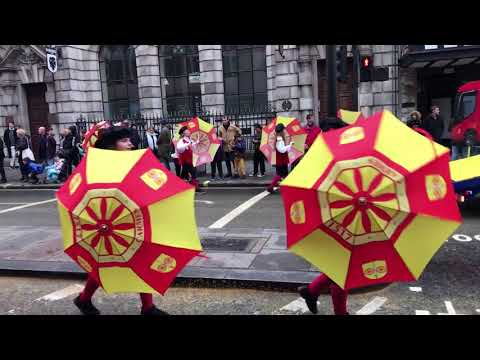 The Lord Mayor's Show in the City of London